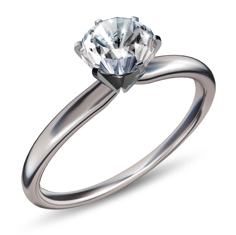 The Most Common Engagement Or Wedding Ring Type These Days Is SOLITAIRE Solitaire Synonym Of A Single Stone In This Diamond Setting Style